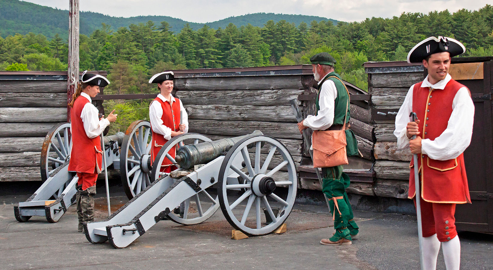 History Comes Alive at Fort William Henry!