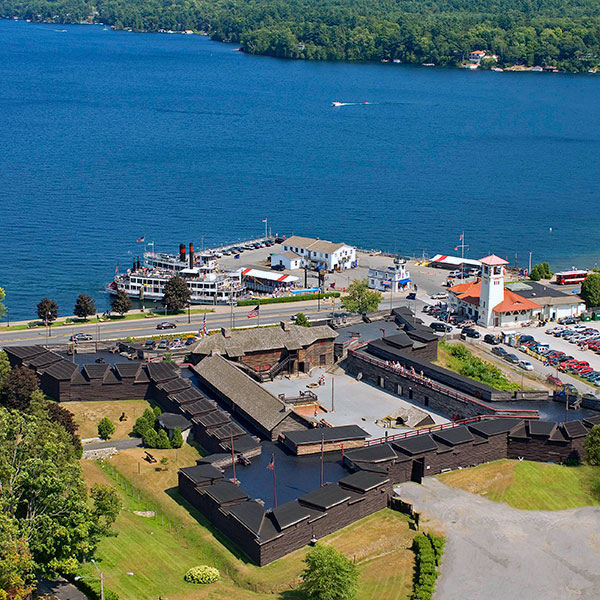 Fort William Henry in Lake George, NY