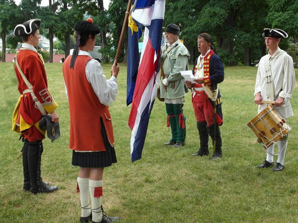 Commemoration of the Surrender of Fort William Henry
